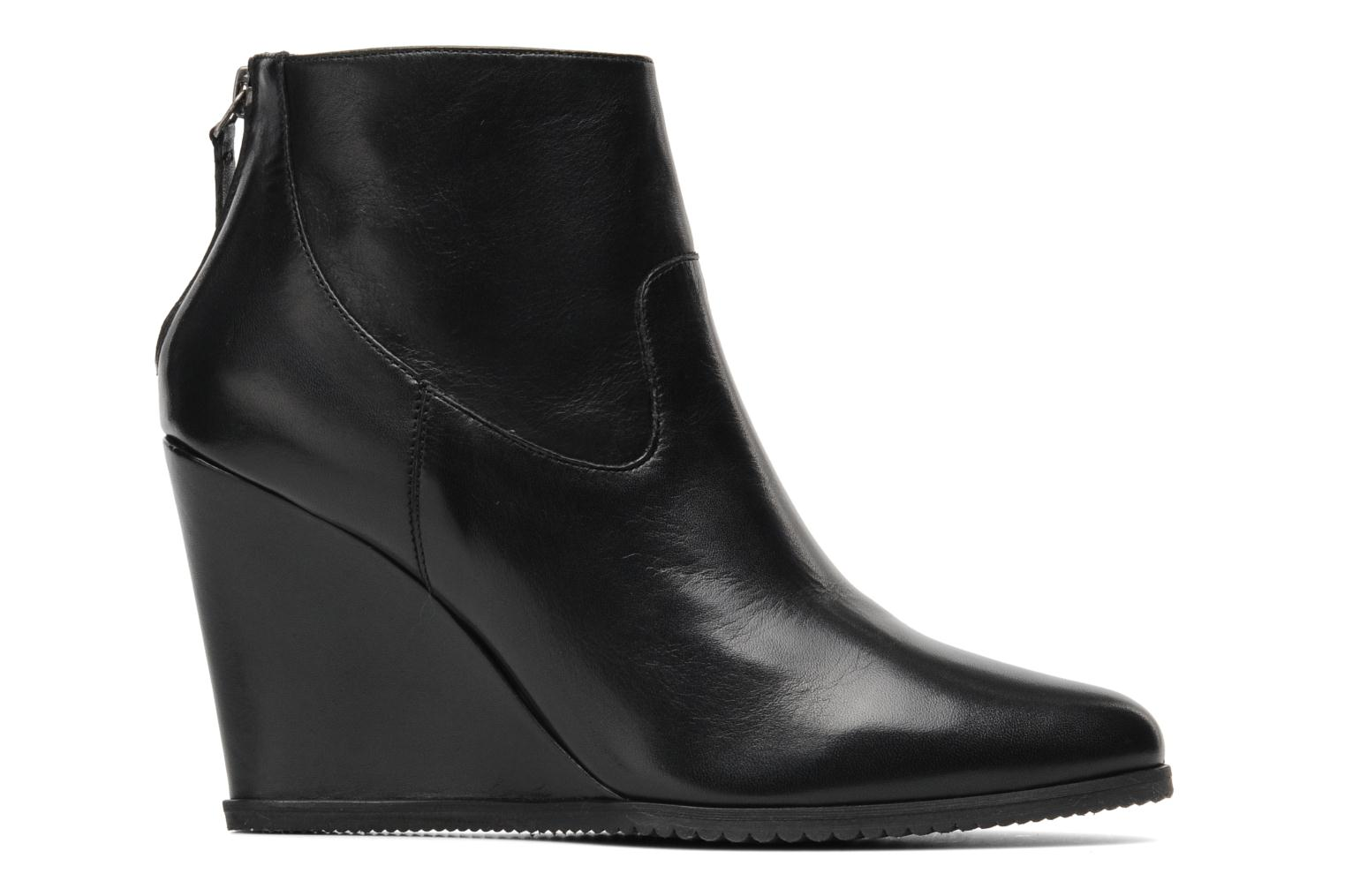 Ankle boots Georgia Rose Tablier Black back view