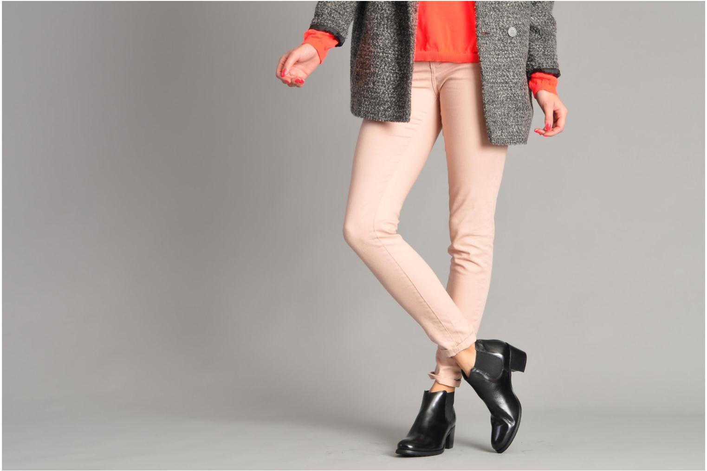Stiefeletten & Boots Georgia Rose Tabou schwarz ansicht von unten / tasche getragen