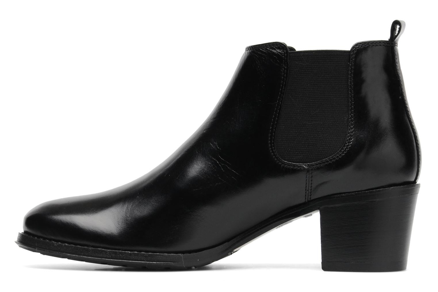 Ankle boots Georgia Rose Tabou Black front view