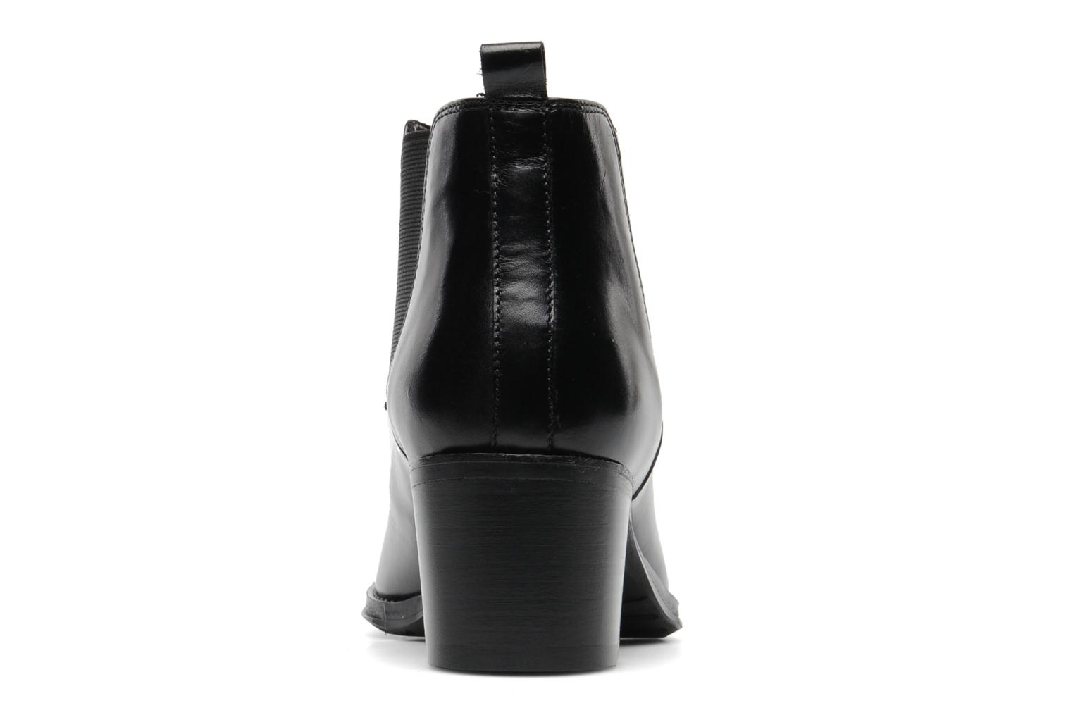 Ankle boots Georgia Rose Tabou Black view from the right