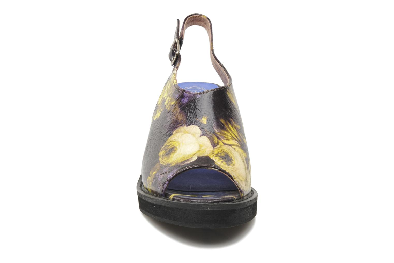 Sandalen Jeffrey Campbell JC 2013-553 mehrfarbig schuhe getragen