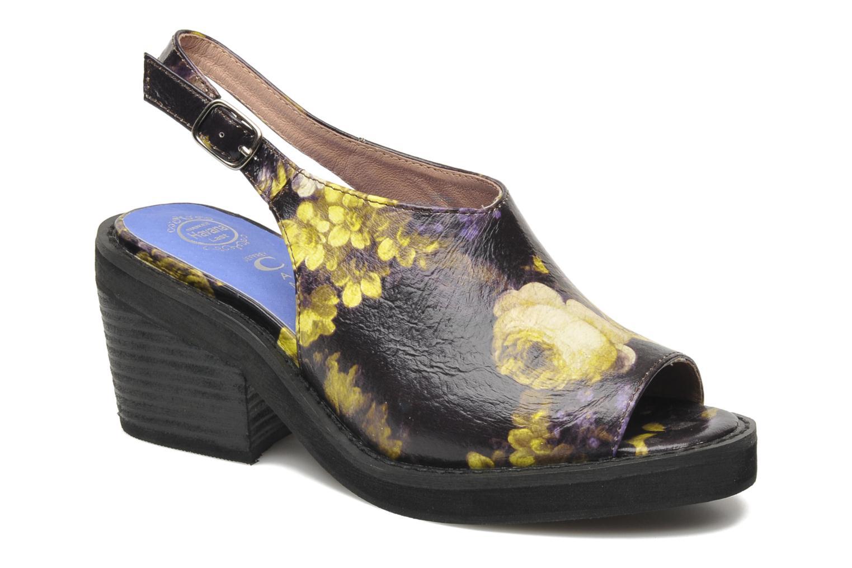 Sandales et nu-pieds Jeffrey Campbell JC 2013-553 Multicolore vue détail/paire