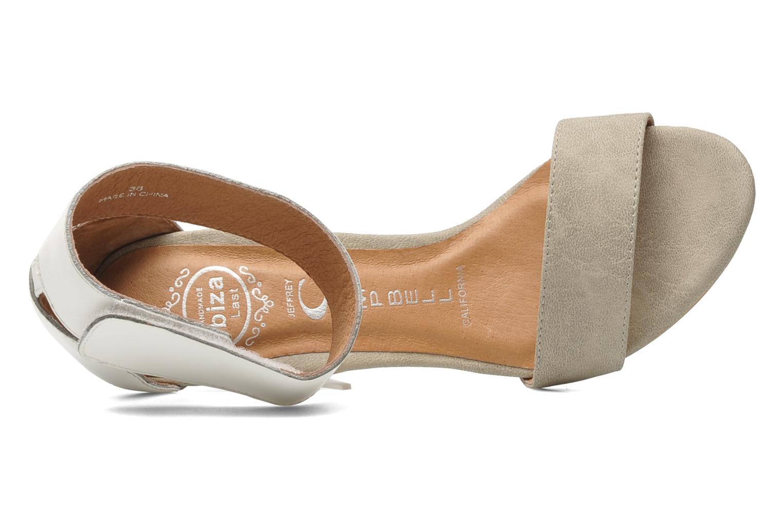 Sandales et nu-pieds Jeffrey Campbell JC-093-1 Beige vue gauche