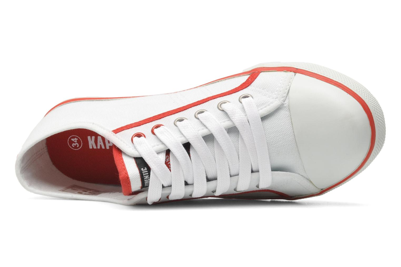 Sneaker Kaporal STAN weiß ansicht von links