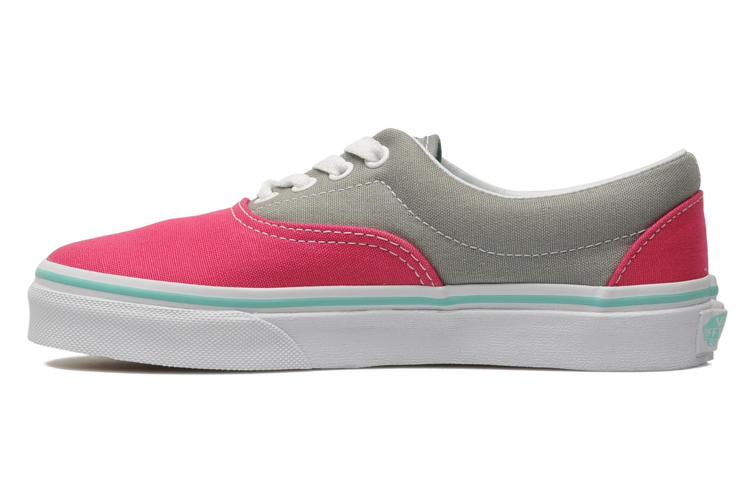 Multi/True White Vans Era E (Rose)