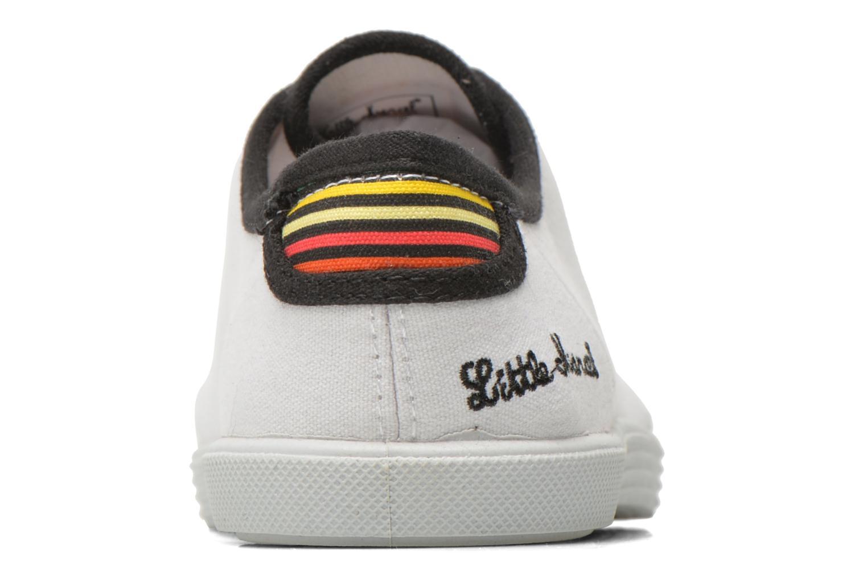 Baskets Little Marcel SANLAS UNI J Blanc vue droite