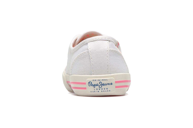 Baskets Pepe jeans BAKER Blanc vue droite