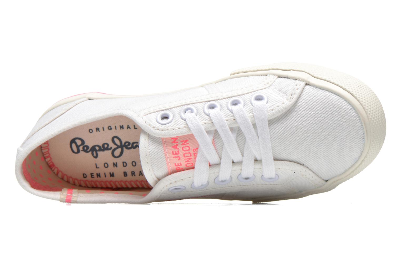 Baskets Pepe jeans BAKER Blanc vue gauche