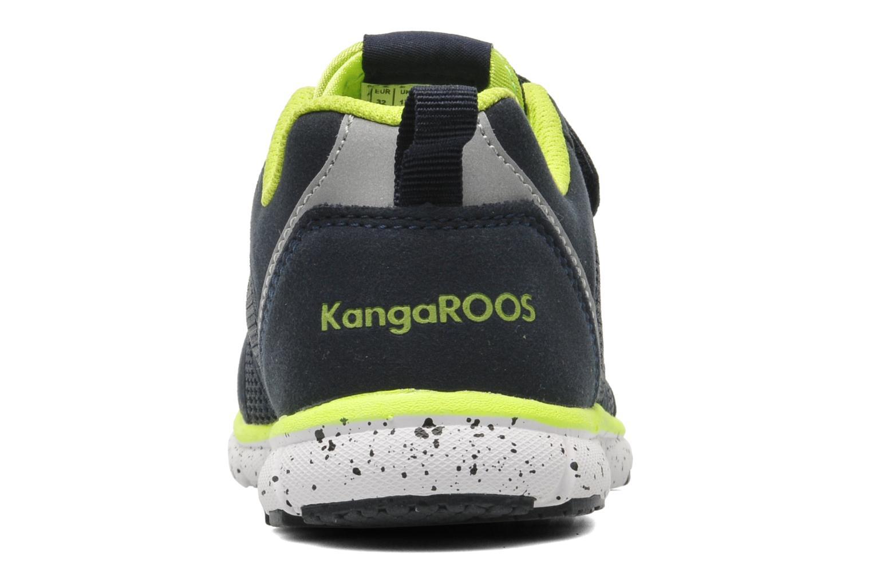 Baskets Kangaroos Nara Bleu vue droite