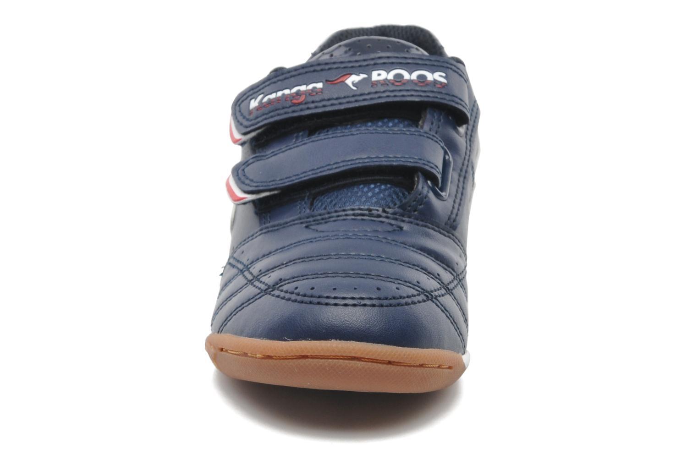 Baskets Kangaroos Power Court Bleu vue portées chaussures