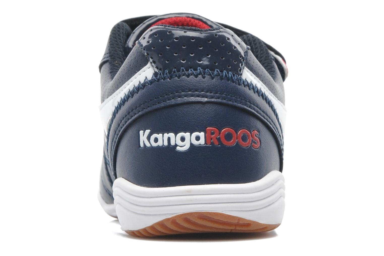 Baskets Kangaroos Power Court Bleu vue droite
