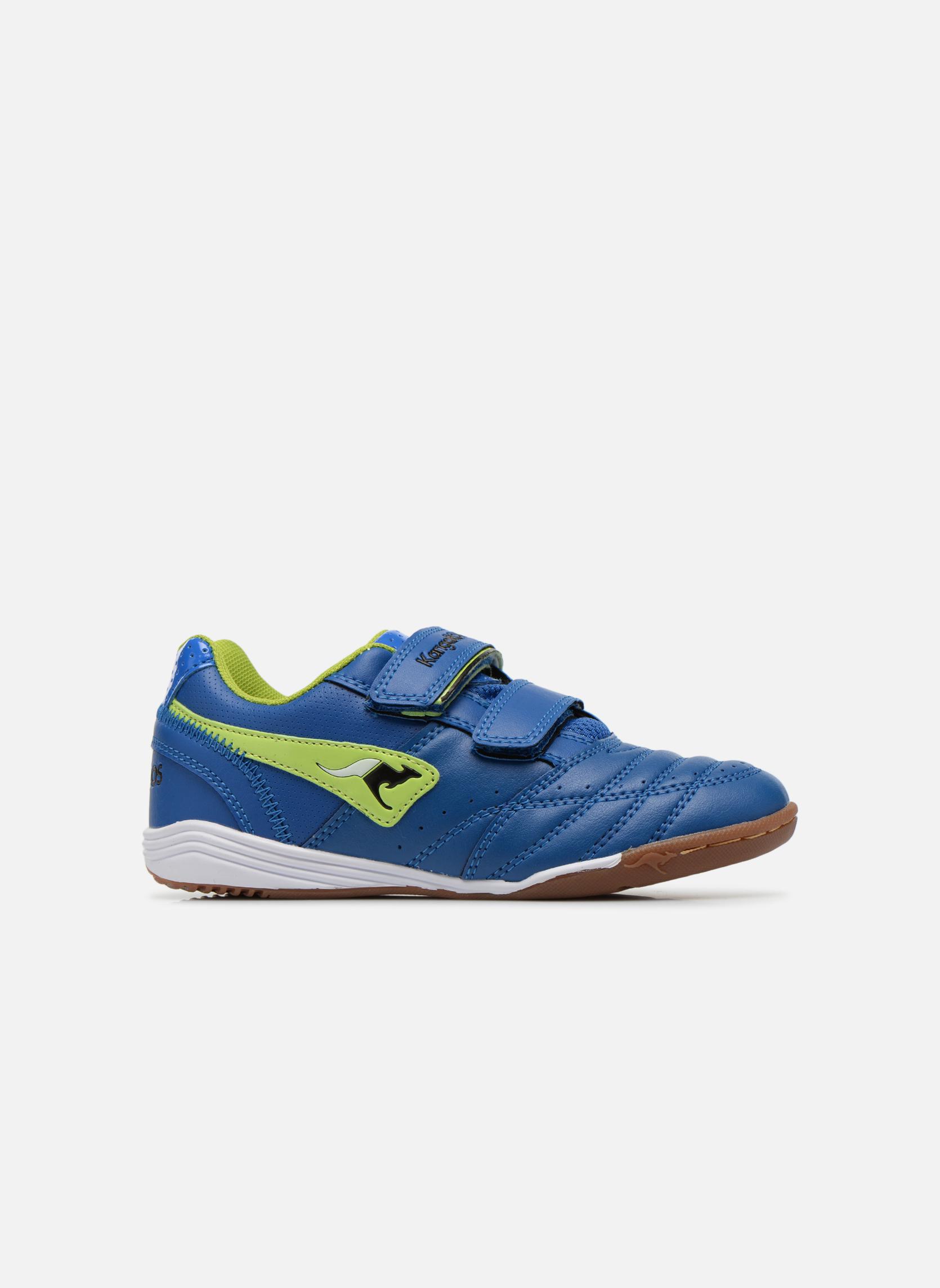 Sneakers Kangaroos Power Court Blauw achterkant