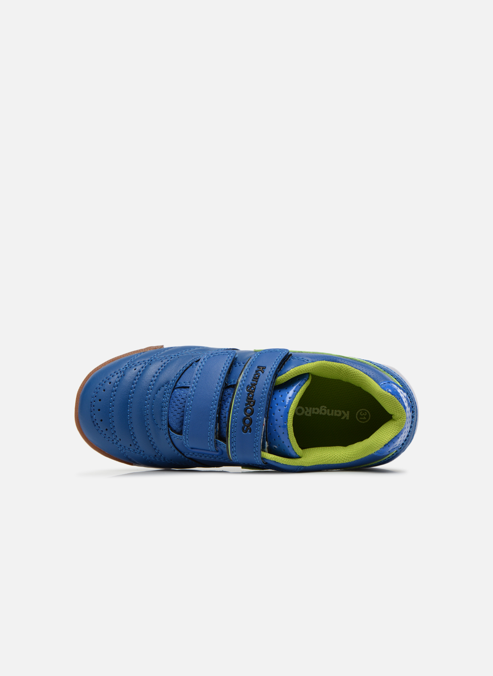 Sneaker Kangaroos Power Court blau ansicht von links
