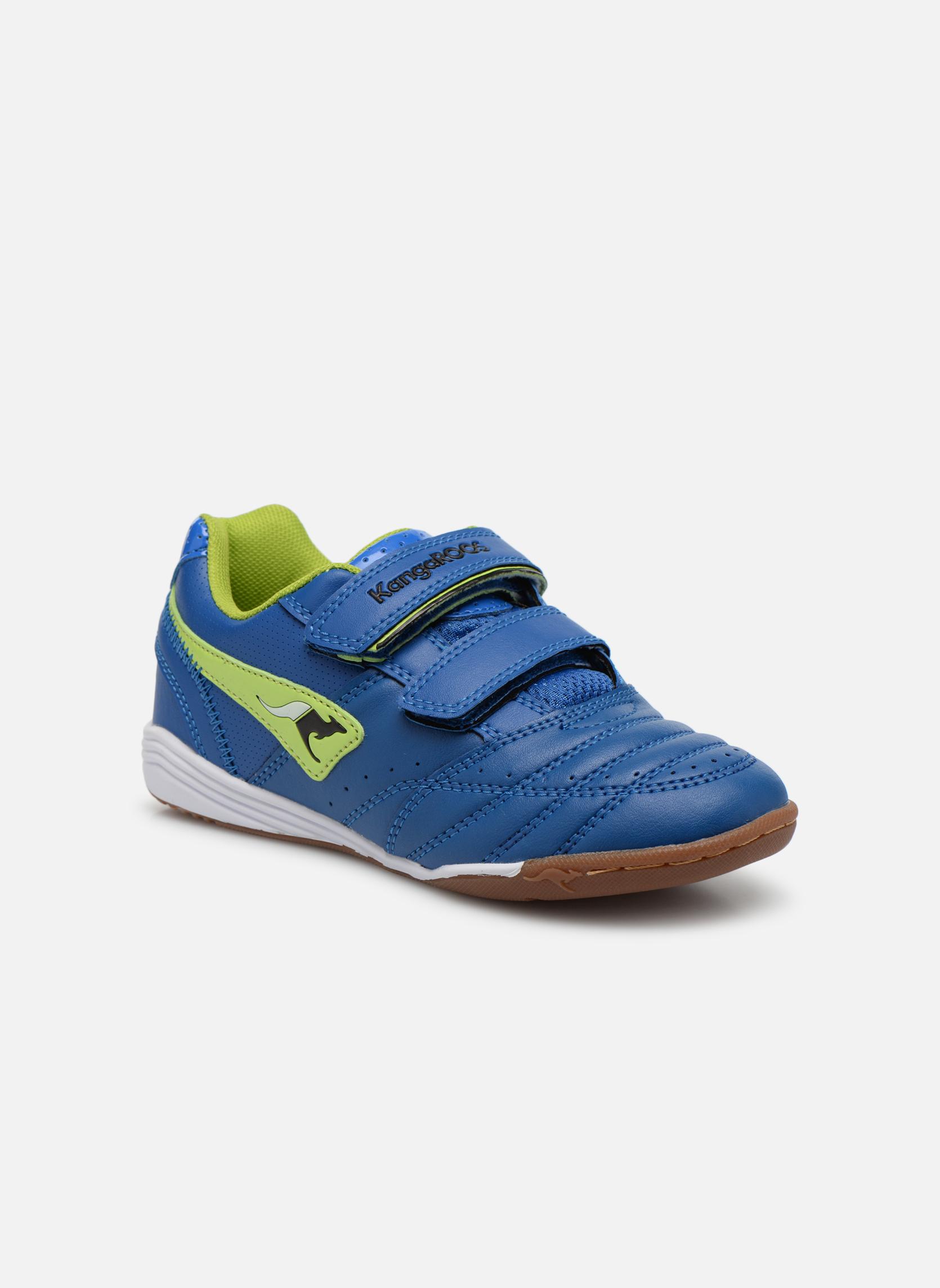 Sneakers Kangaroos Power Court Blauw detail