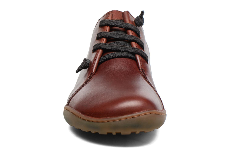 Sneaker Camper Peu Cami 18736 braun schuhe getragen