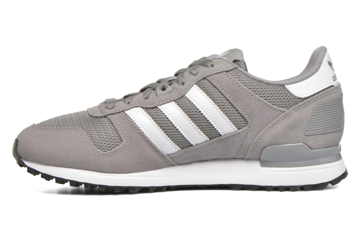 Baskets Adidas Originals Zx 700 Gris vue face