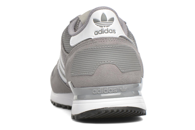 Baskets Adidas Originals Zx 700 Gris vue droite