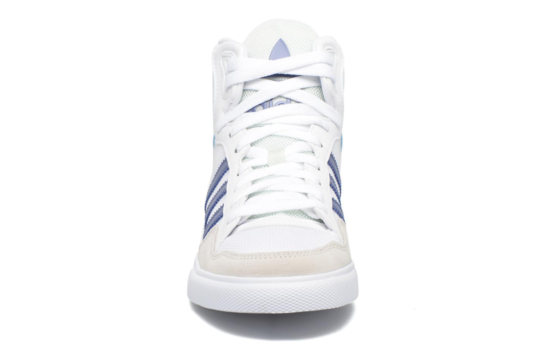 Sneaker Adidas Originals Extaball W weiß schuhe getragen