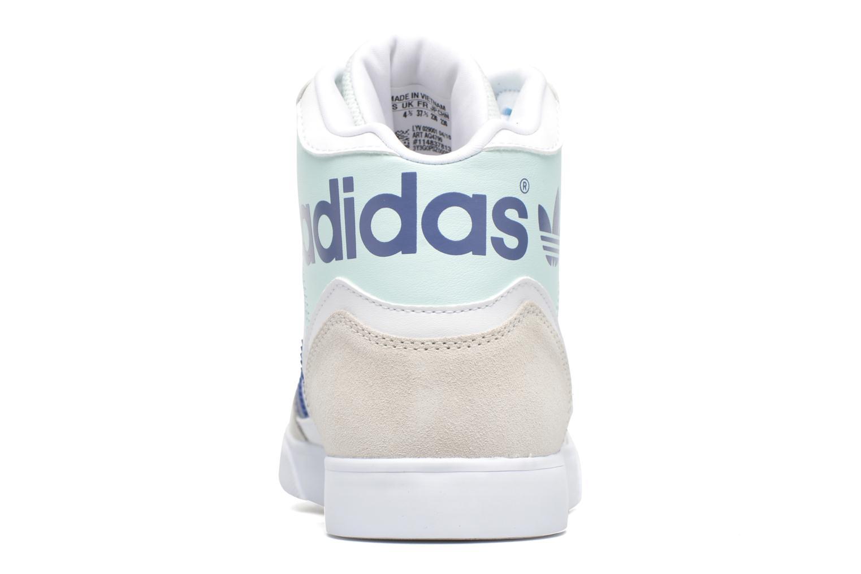 Sneaker Adidas Originals Extaball W weiß ansicht von rechts