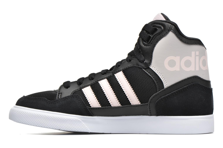 Sneaker Adidas Originals Extaball W schwarz ansicht von vorne