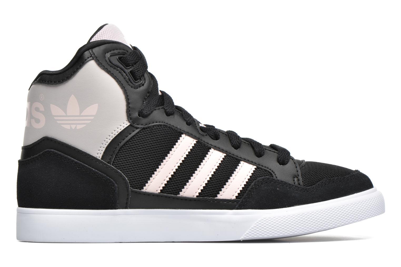 Sneaker Adidas Originals Extaball W schwarz ansicht von hinten
