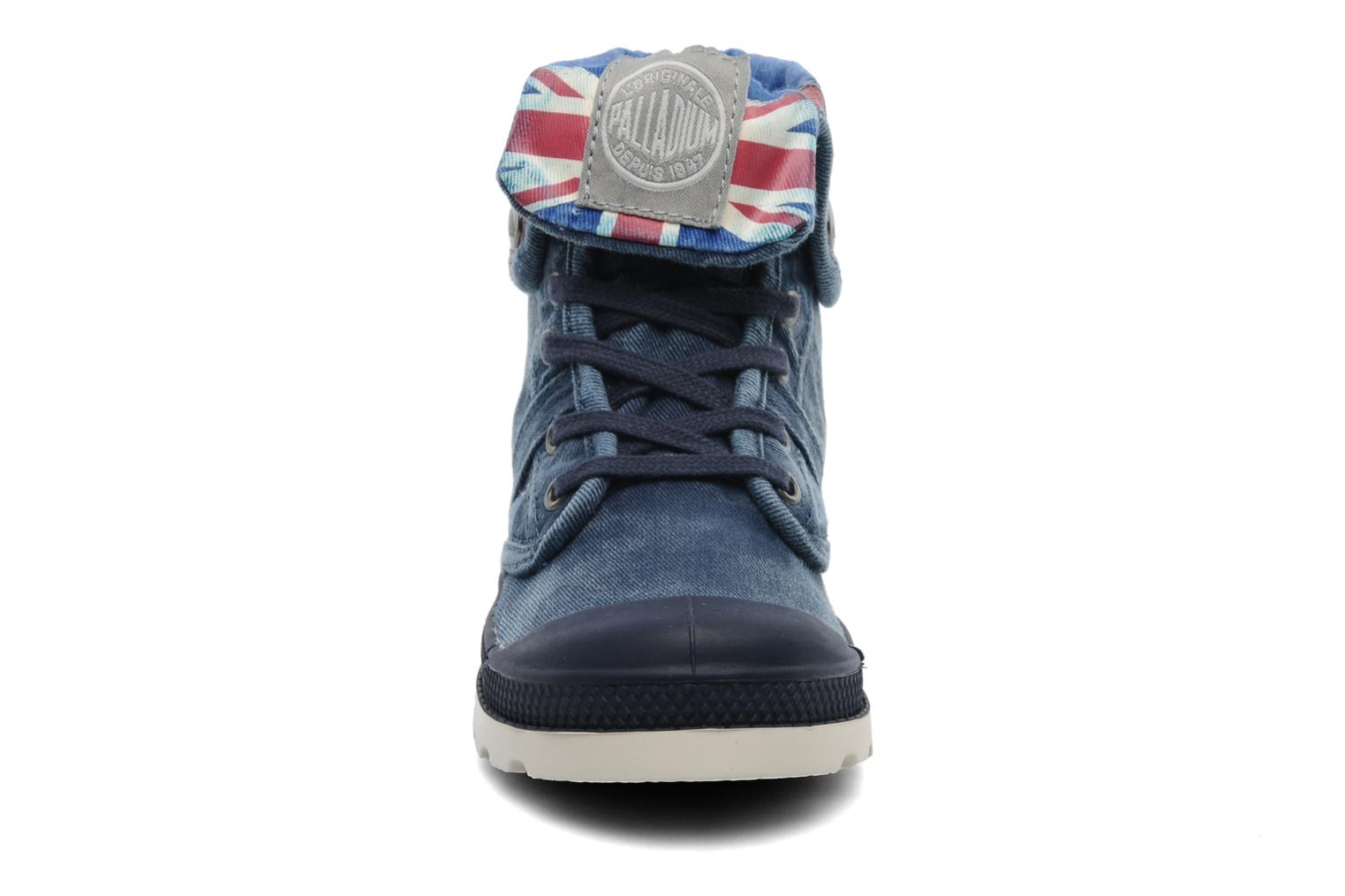 Boots en enkellaarsjes Palladium Baggy Kid Flag Blauw model