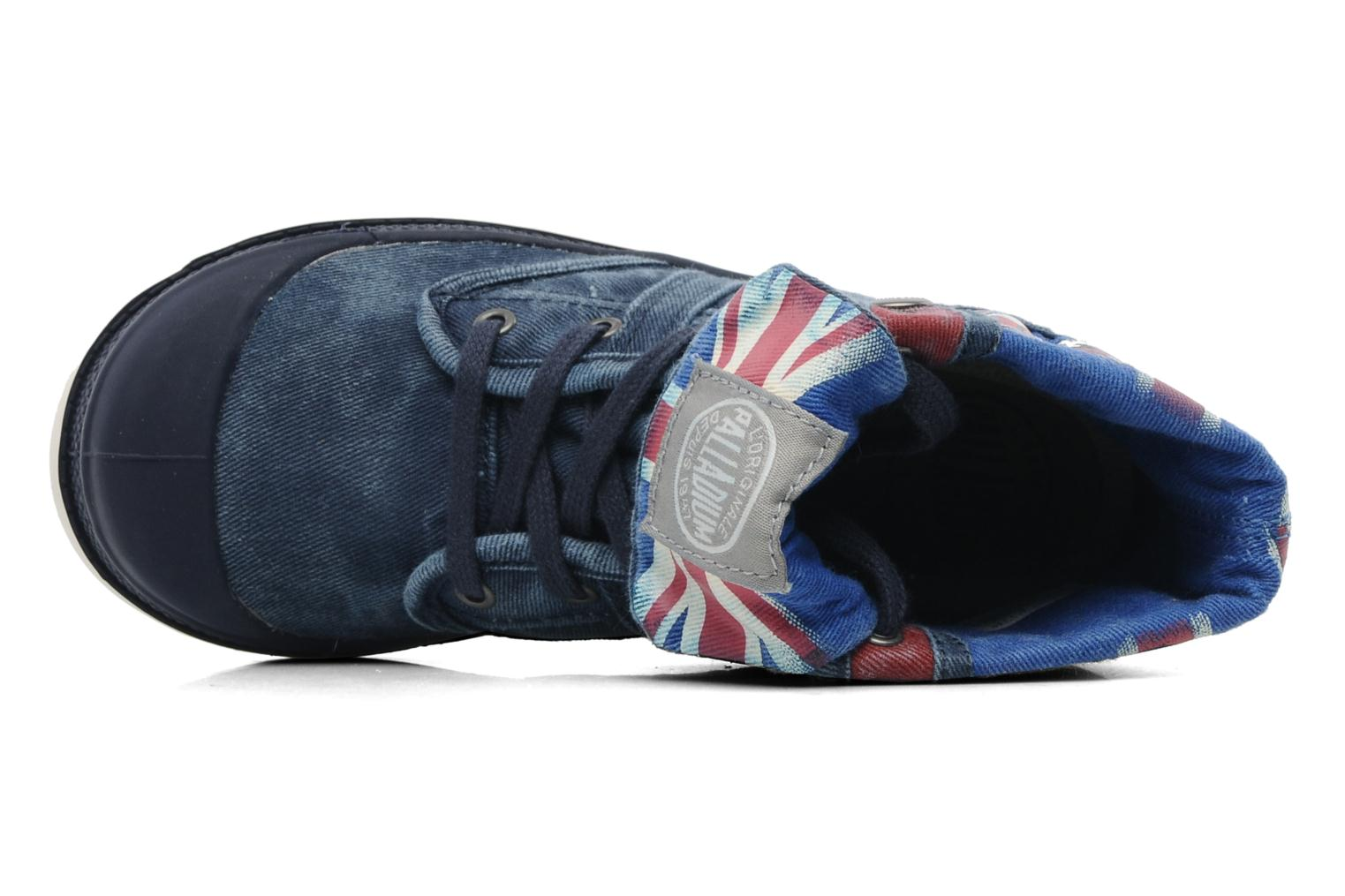 Boots en enkellaarsjes Palladium Baggy Kid Flag Blauw links