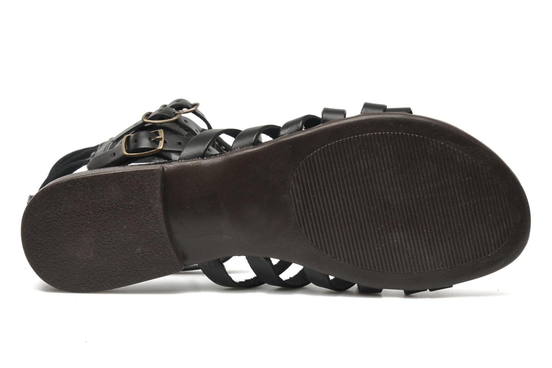 Sparta Black leather