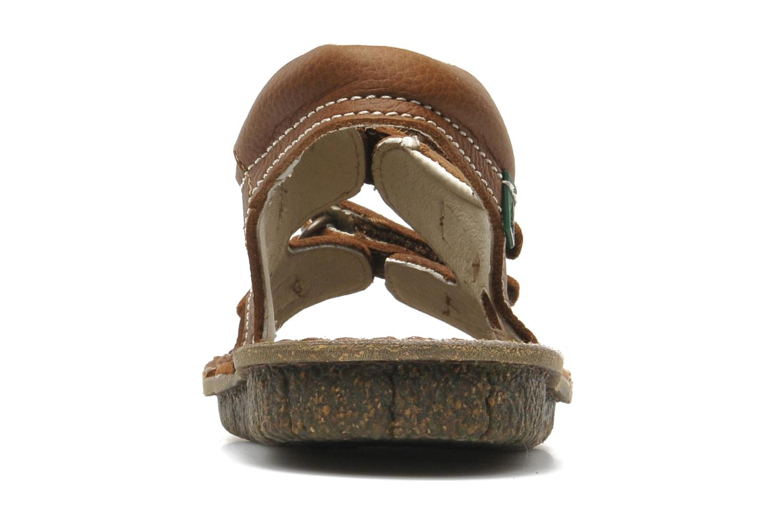 Sandales et nu-pieds El Naturalista KIRI E264 Marron vue droite