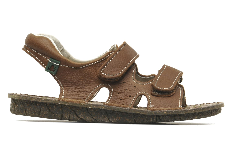Sandales et nu-pieds El Naturalista KIRI E264 Marron vue derrière