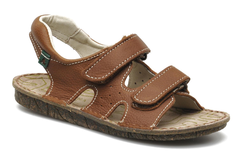 Sandales et nu-pieds El Naturalista KIRI E264 Marron vue détail/paire