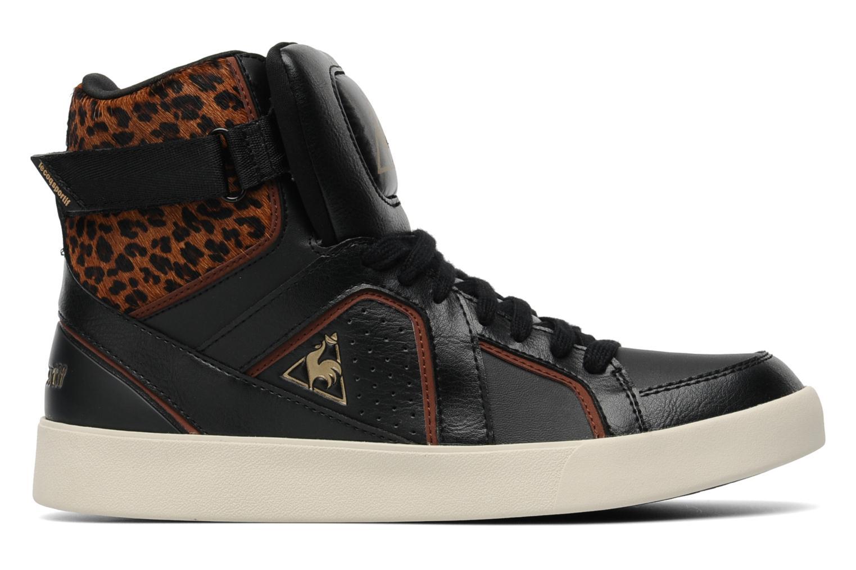 Baskets Le Coq Sportif Emeraude Leopard Noir vue derrière