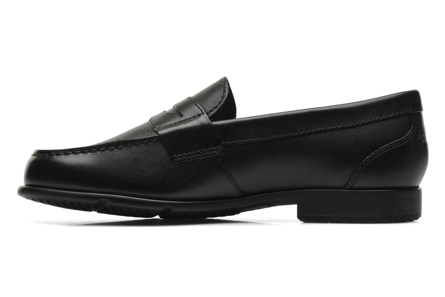 Mocassins Rockport Classic Loafer Penny Noir vue face