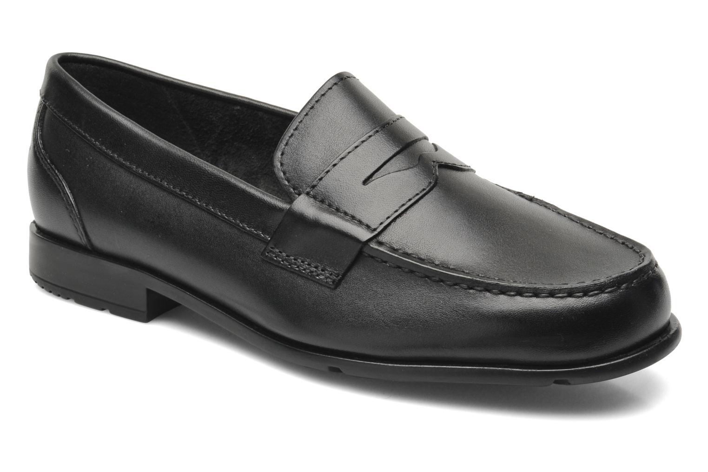 Mocassins Rockport Classic Loafer Penny Noir vue détail/paire