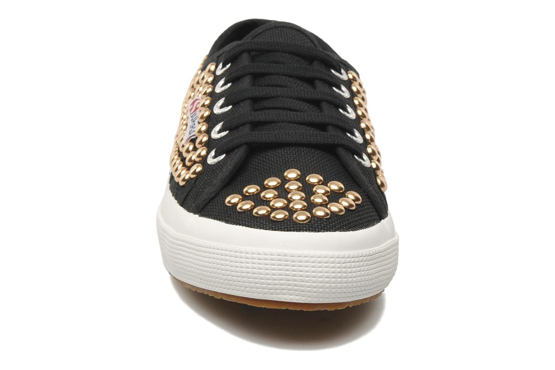 Baskets Superga 2750 Cotstuds W Noir vue portées chaussures