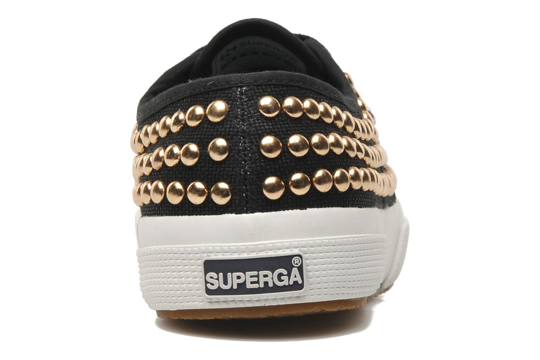 Sneakers Superga 2750 Cotstuds W Zwart rechts