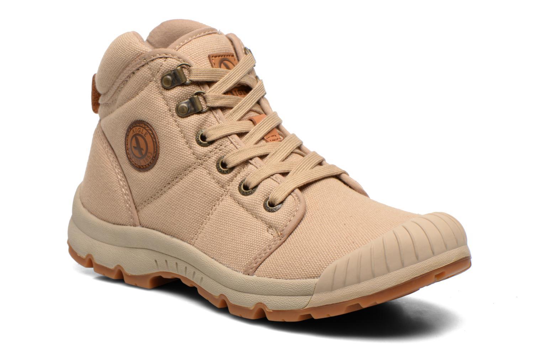 Boots en enkellaarsjes Aigle Tenere Light Beige detail