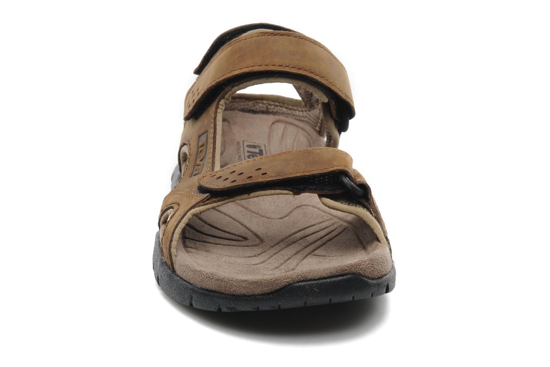 Sandales et nu-pieds Teva Fossil Canyon Marron vue portées chaussures