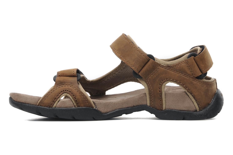 Sandales et nu-pieds Teva Fossil Canyon Marron vue face