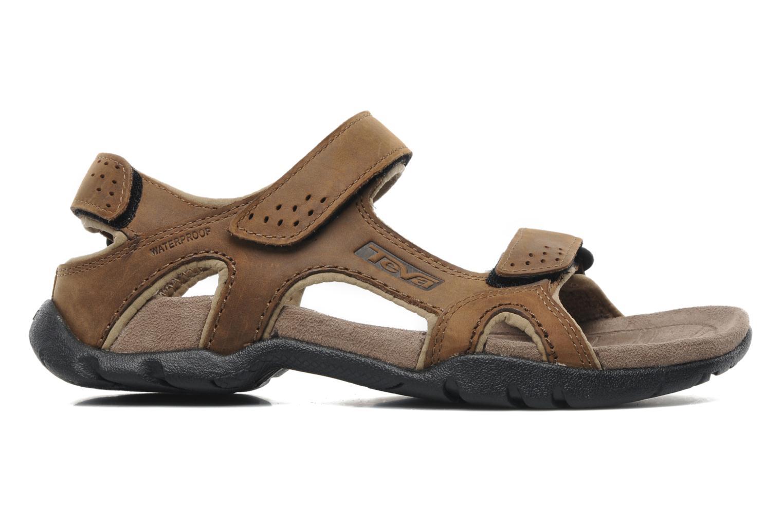 Sandales et nu-pieds Teva Fossil Canyon Marron vue derrière
