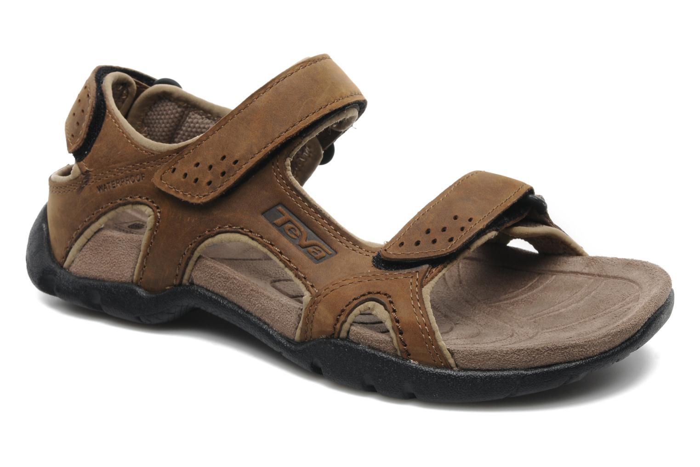 Sandales et nu-pieds Teva Fossil Canyon Marron vue détail/paire