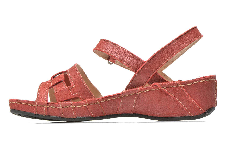 Sandales et nu-pieds TBS Easy Walk Vladia Rouge vue face