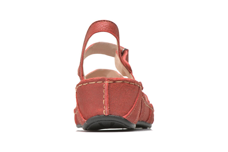 Sandales et nu-pieds TBS Easy Walk Vladia Rouge vue droite