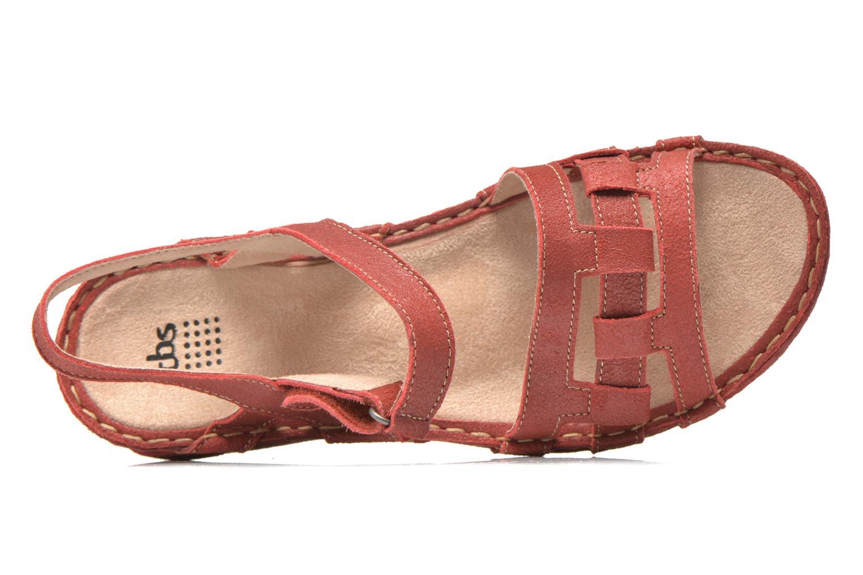 Sandales et nu-pieds TBS Easy Walk Vladia Rouge vue gauche