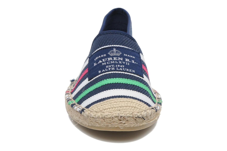 Espadrilles Lauren by Ralph Lauren Debby Bleu vue portées chaussures