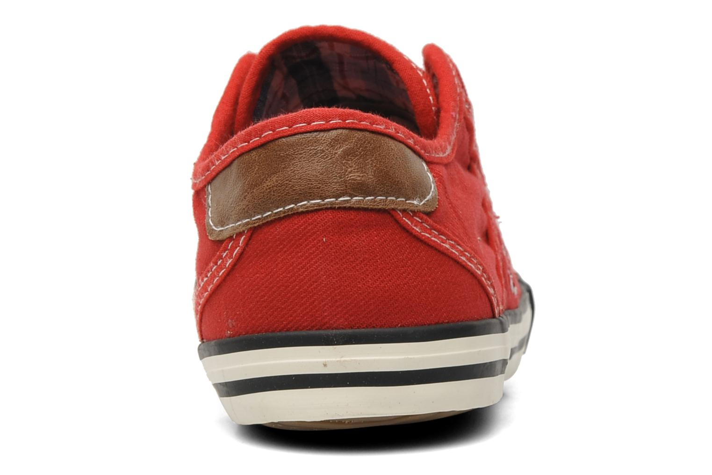 Baskets Mustang shoes Sorala Rouge vue droite