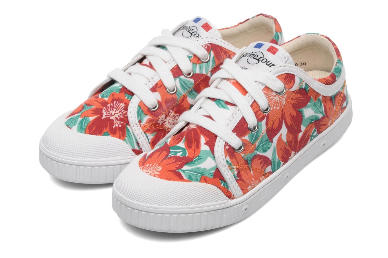 Sneakers Spring Court GE1L JUNGLE Arancione immagine 3/4