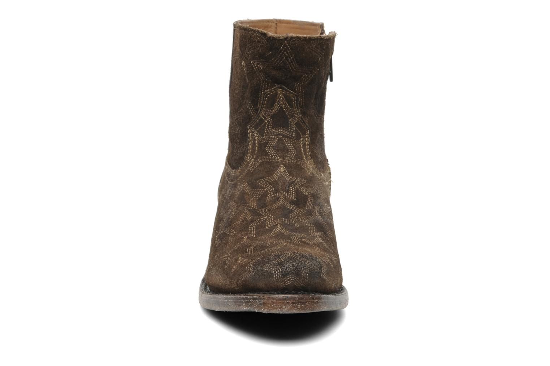 Bottines et boots Ash Kut star Marron vue portées chaussures