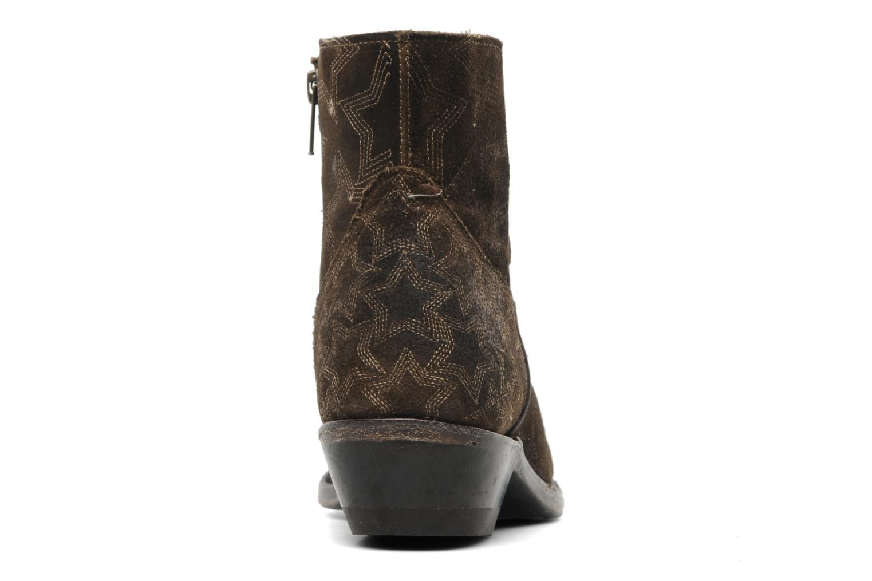 Bottines et boots Ash Kut star Marron vue droite