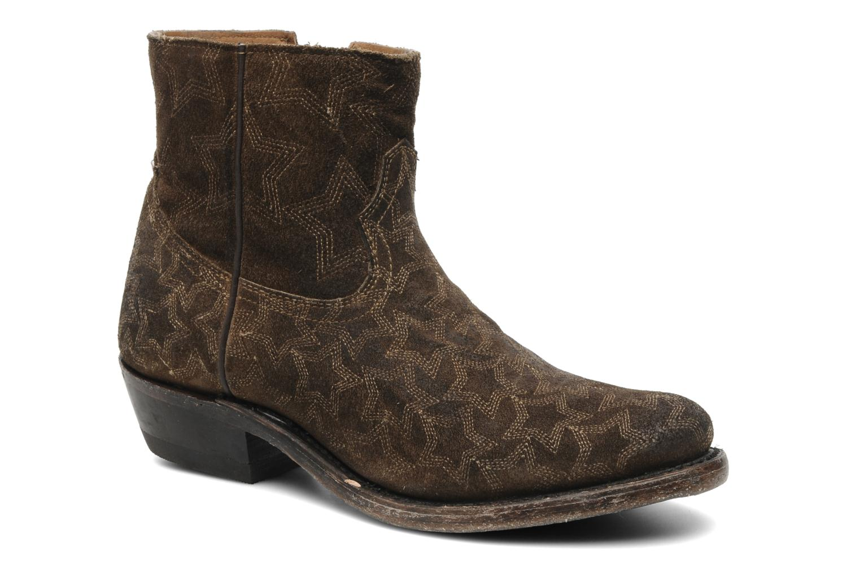 Bottines et boots Ash Kut star Marron vue détail/paire